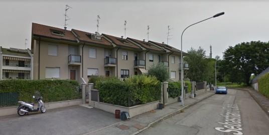 Affittasi a Vercelli villetta a schiera ammobiliata